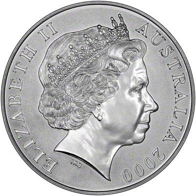 Australian Silver Kangaroo Coins 2000