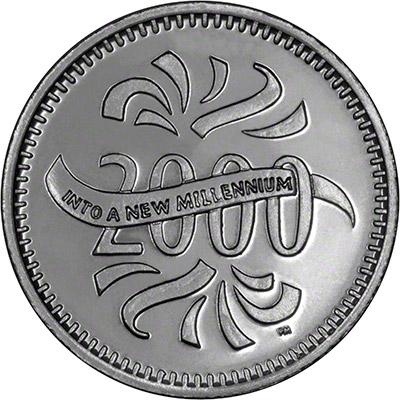 Reverse of Tony Blair Medallion