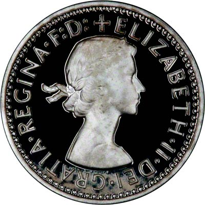 Obverse of 2000 Maundy Fourpence
