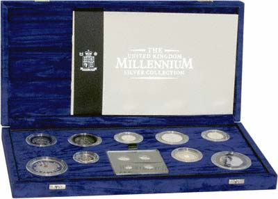 The Millennium Silver Collection is Housed in an Impressive Box