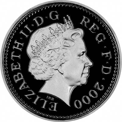 Fourth Portrait Obverse Used From 1998 Onwards