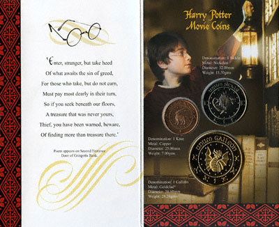 Reverse of Harry Potter Wizard Pack