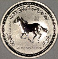 2002 Australian Half Ounce Silver Horse