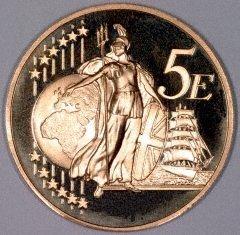 Britannia on a UK Pattern 5 Euros