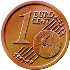 Common Reverse of all 1 Euro Cent Coins