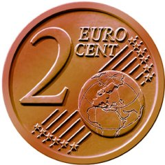 Common Reverse of all 2 Euro Cent Coins