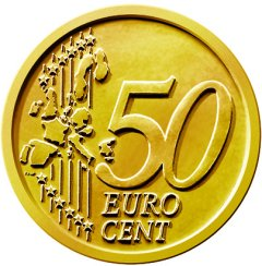 Common Reverse of all 50 Euro Cent Coins