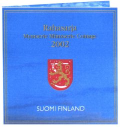Cover of Official Finland Euro Coin Set
