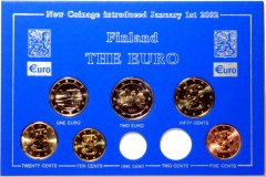 Finnish Euro Coin Set