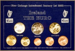 Our Own Euro Coin Set Packaging