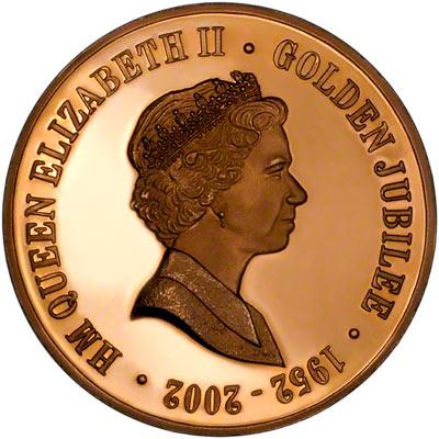 2002 Golden Jubilee Medallion by Chard