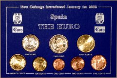 Euro Coin Sets from Spain