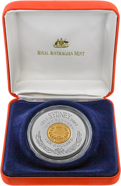 2003 150th Anniversary of the Sydney Mint Pattern Coin in Presentation Box