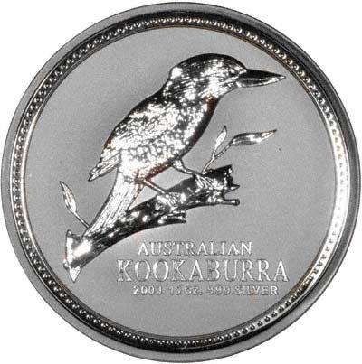 2003 Australian 10 Ounce Silver Kookaburra