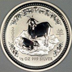 2003 Australian Half Ounce Silver Monkey