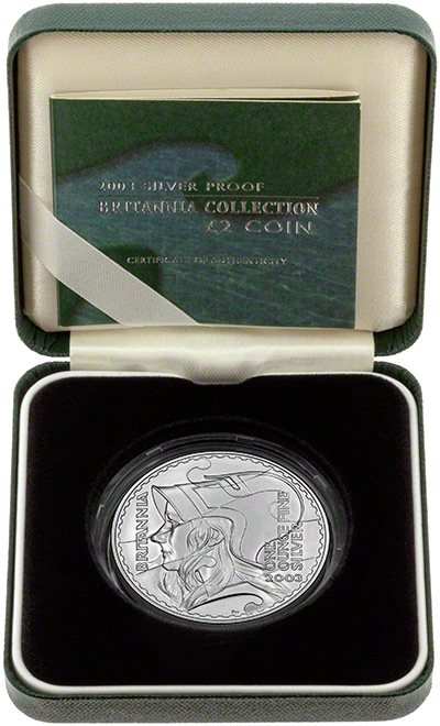 2003 Proof Britannia in Presentation Box