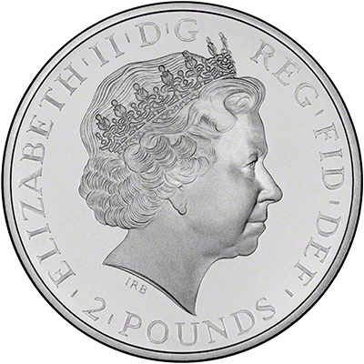 Obverse of 2003 Proof Britannias