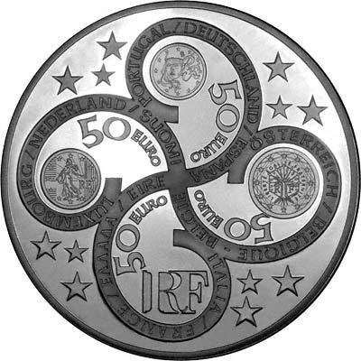 2003 french 1 kilo silver europa coin. Black Bedroom Furniture Sets. Home Design Ideas