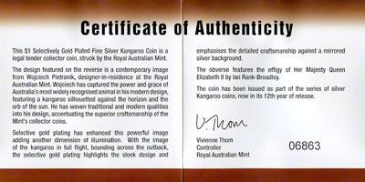 Australian Silver Kangaroo Coins 2004