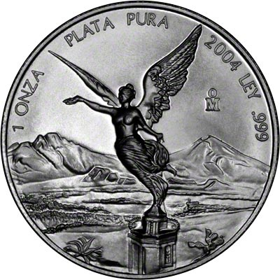 2004 One Ounce Mexican Silver Libertad