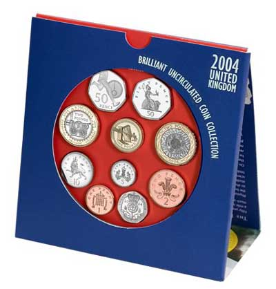 Uncirculated Coin Set in Folder