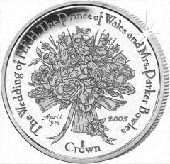 Reverse of Falklands Crown