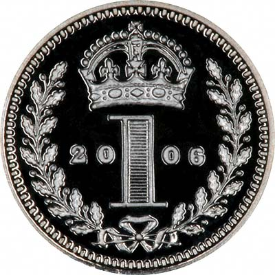 Reverse of 2006 Maundy Penny