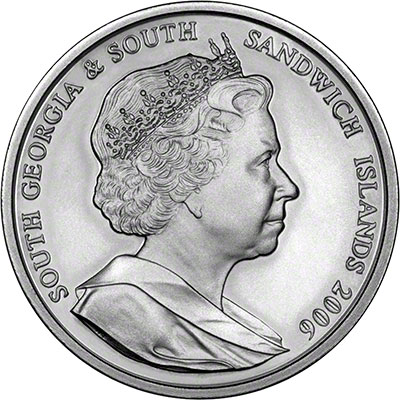 2006 south georgia - 80th birthday QEII royal wedding OBV