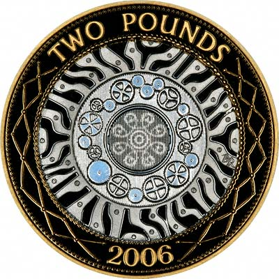 Reverse of 2006 Definitive Two Pounds