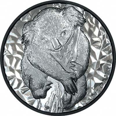 Reverse of 2007 Australian Koala Silver Dollar