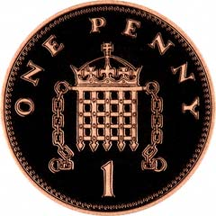 Reverse of 1997 Penny