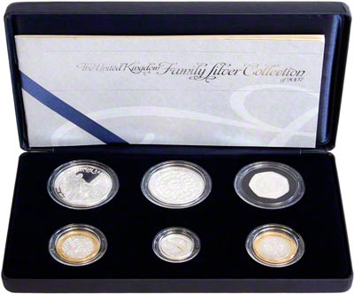 2007 Six Coin Family Proof Collection in Presentation Box