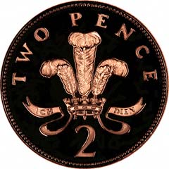 Reverse of Two Pence