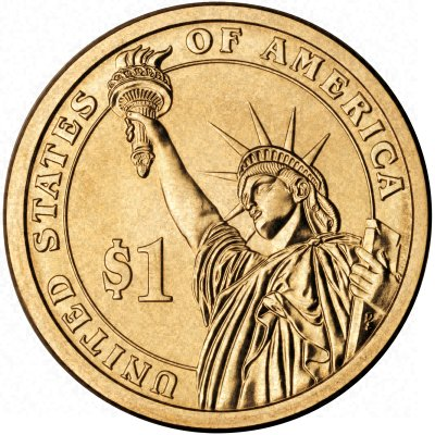 Edge Inscription on New 2007 USA $1 Presidential Series