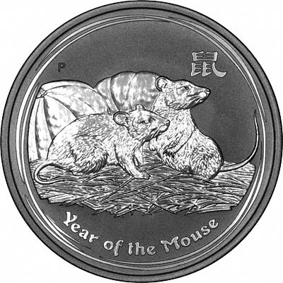 2008 Year Of The Rat Australian Silver Bullion Coins Second Series
