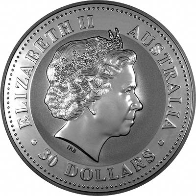 2008 Australian One Kilo Silver Kookaburra Coins