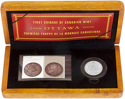 2008 First Coinage of Canadian Mint in Presentation Box