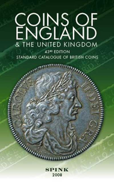 Coins of England & The United Kingdom Standard Catalog of British Coins by Spink