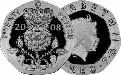 2008 First Type Twenty Pence