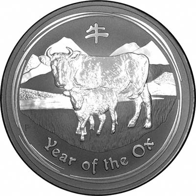 Reverse of 2009 Year of the Ox