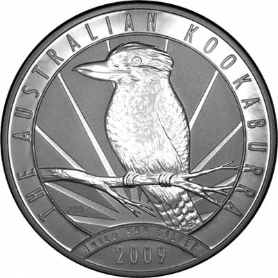 One Kilo Australian Silver Kookaburras