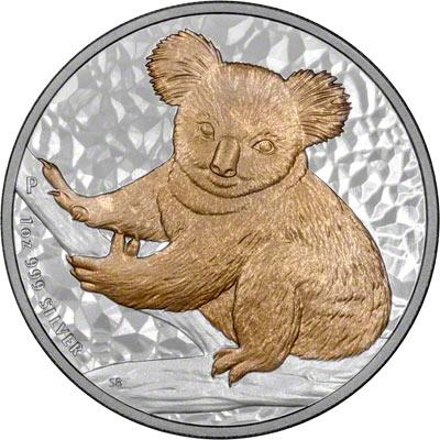 Gilded Silver One Ounce Koala