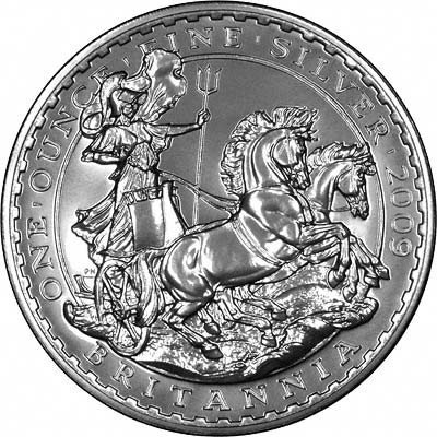 Silver Britannia in Uncirculated Condition