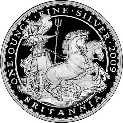 Silver Britannia in Uncirculated Condition