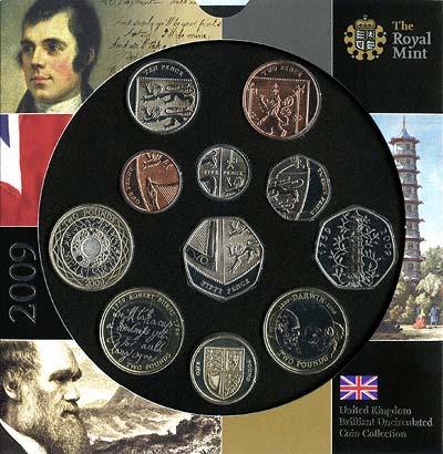 2009 British Coin Sets