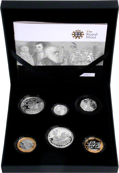 2009 Six Coin Silver Proof Collection in Presentation Box