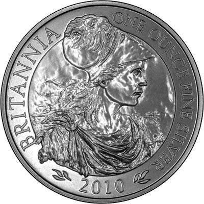 The Latest 2010 Britannia One Ounce Silver Bullion Coin