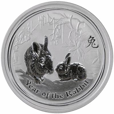 2011 year of the rabbit australian silver bullion coins second series. Black Bedroom Furniture Sets. Home Design Ideas