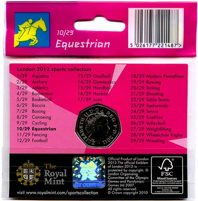 2012 Sports Collection - Equestrian