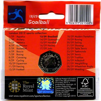 2012 Sports Collection - Goalball